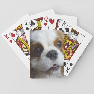 Baralho Cartões de jogo descuidados do rei Charles de