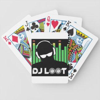 Baralho Cartões de jogo do pilhagem do DJ