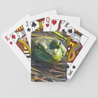 Baralho Cartões de jogo do sapo de Bull
