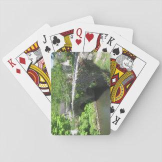 Baralho Cartões de jogo do tamanho do póquer: Imagem de