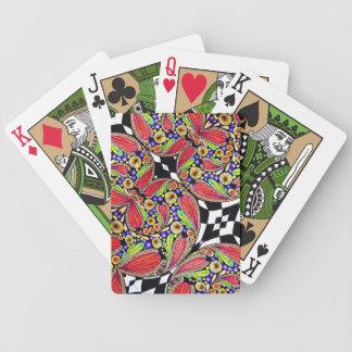 Baralho Cartões de jogo originais da bicicleta da arte