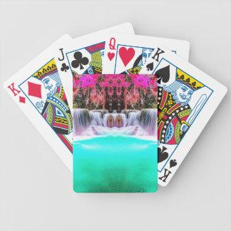 Baralho De Poker Cachoeira psicadélico