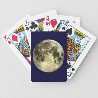 Baralho De Poker Cartões de jogo da Lua cheia