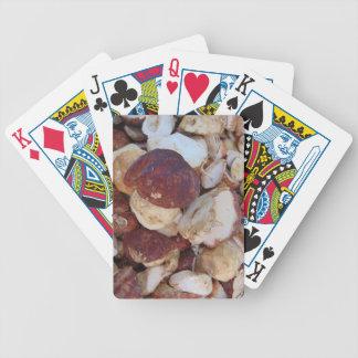 Baralho De Poker Cogumelos de Porcini