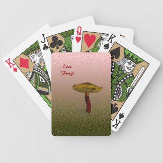 Baralho Para Poker Arte dos fungos