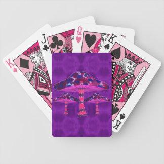 Baralho Para Poker Cogumelos psicadélicos