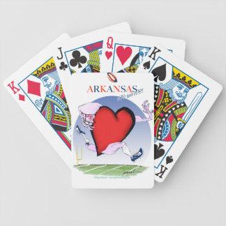 Baralho Para Poker coração principal de arkansas, fernandes tony