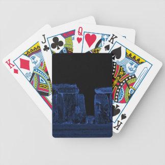 Baralho Para Poker Local histórico antigo de Stonehenge do poder