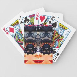 Baralho Para Poker Menina psicadélico