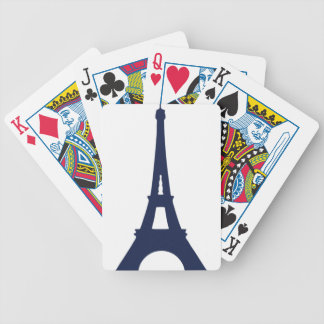Baralho Para Pôquer Desenho da torre Eiffel