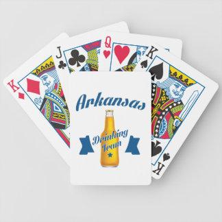 Baralho Para Pôquer Equipe do bebendo de Arkansas