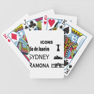 Baralho Para Pôquer Ícone-Rio-Sidney