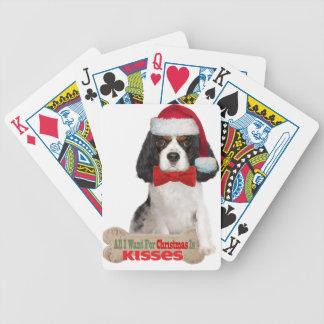 Baralho Para Pôquer O Cavalier quer para beijos do Natal