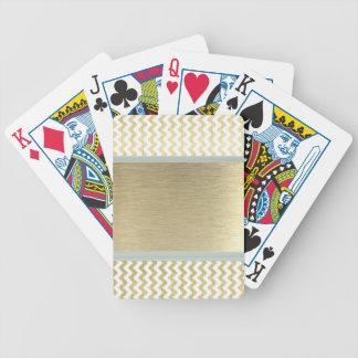 Baralho Para Pôquer Ouro glamoroso adorável da viga