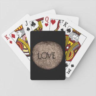 """Baralho Pedra cinzelada do """"amor"""""""