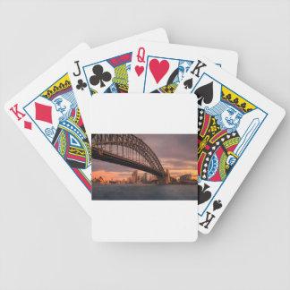 Baralho Ponte de porto de Sydney