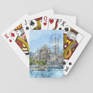 Baralho Torre de Galata em Istambul Turquia