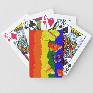 Baralhos De Carta Celebração da diversidade com cores do arco-íris
