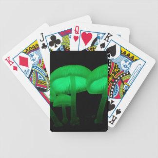 Baralhos De Poker Cogumelos de néon