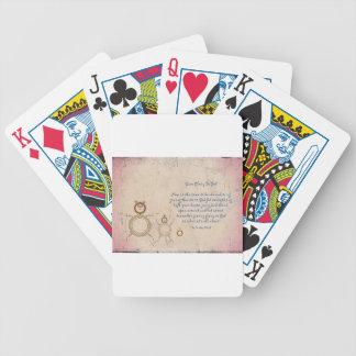 Baralhos De Poker Dê a glória ao deus
