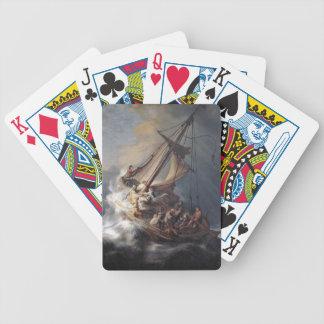 Baralhos De Poker Mar dos discípulo de Jesus de cartões de jogo da