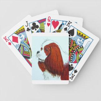 Baralhos De Poker Rei Charles Cavalier Spaniel