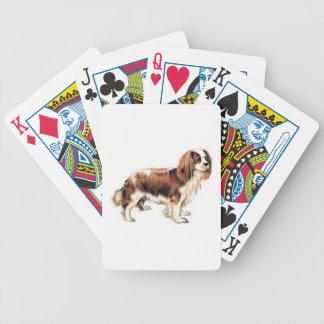 Baralhos De Poker Spaniel de rei Charles descuidado