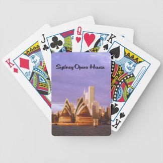Baralhos De Poker Teatro da ópera de Sydney