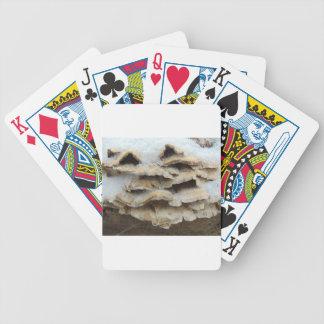 Baralhos De Pôquer Cogumelos no inverno