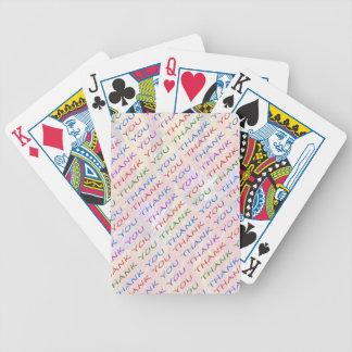 Baralhos De Pôquer OBRIGADO retorna o presente - que ideia