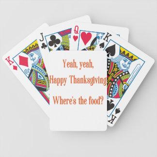Baralhos Para Poker Acção de graças