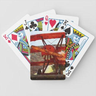 Baralhos Para Poker Avião do vintage por Shirley Taylor
