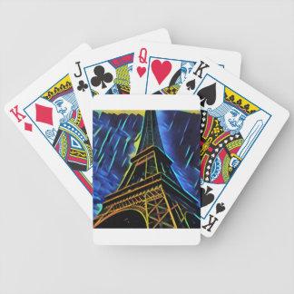 Baralhos Para Pôquer Chuva da torre Eiffel