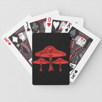 Baralhos Para Pôquer Cogumelos psicadélicos