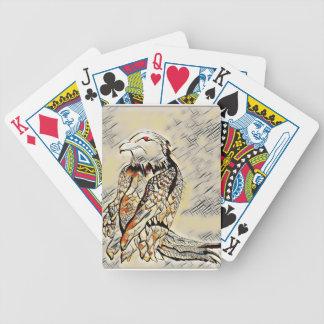 Baralhos Para Pôquer Deixe-nos rapinar mosaico de Eagle