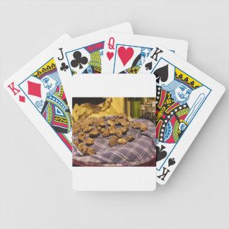 Baralhos Para Pôquer Grupo de trufas brancas caras italianas