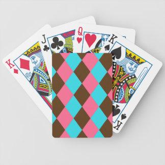 Baralhos Para Pôquer Harlequin, Pastel do chocolate