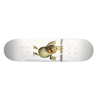 Barata saboroso shape de skate 18,1cm