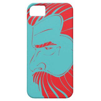 Barba da glória - Aqua/carmesim Capa Para iPhone 5