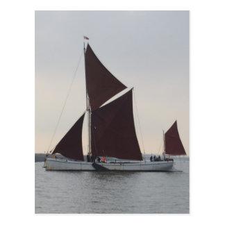 Barca clássica da navigação cartão postal