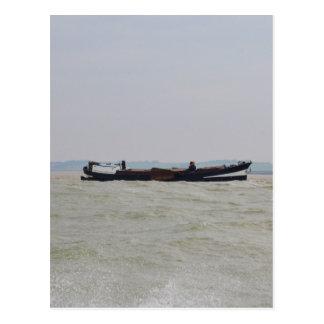 Barca holandesa cartão postal