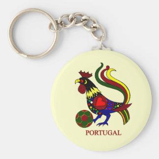 """Barcelos """"galo"""" jogador de futebol de Portugal Chaveiro"""