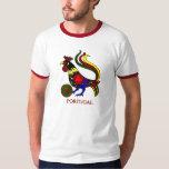 """Barcelos """"galo"""" jogador de futebol de Portugal T-shirt"""