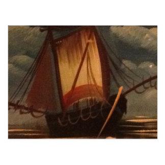 Barco Cartão Postal