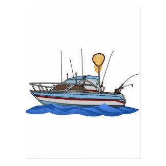 Barco de pesca cartão postal