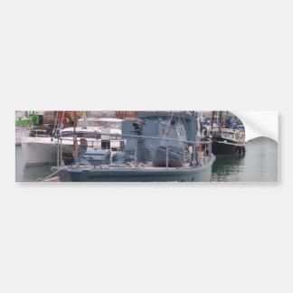 Barco-patrulha da segunda guerra mundial adesivo para carro