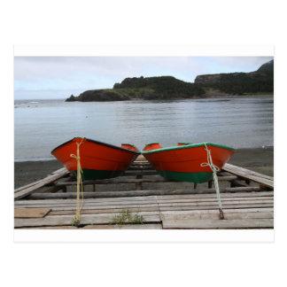 Barcos bonito de Terra Nova Cartão Postal