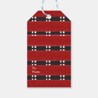 BARES Matte do Tag RED/BLACK do presente