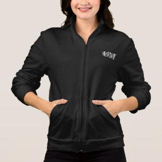 Basculador do velo jaquetas estampadas