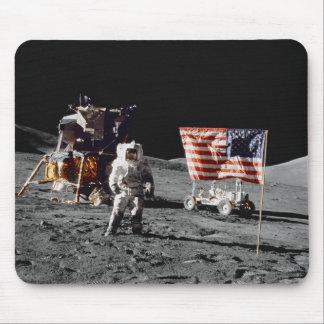 Base da lua de Apollo 17 Mouse Pad